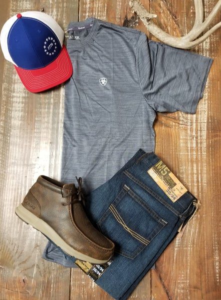 Ariat Men's Graystone Charger Tee