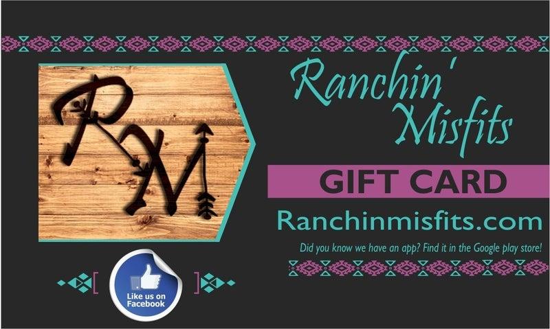 Ranchin' Misfits Gift Card