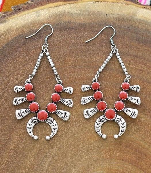 Squash Blossom Earrings *2 Colors*