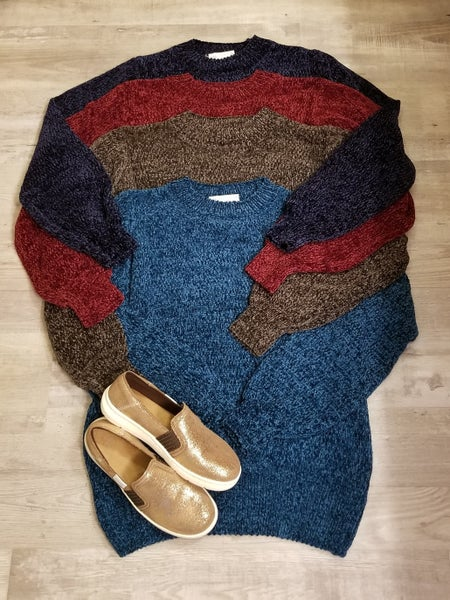 Oh My Chenille Sweater  *4 Colors*