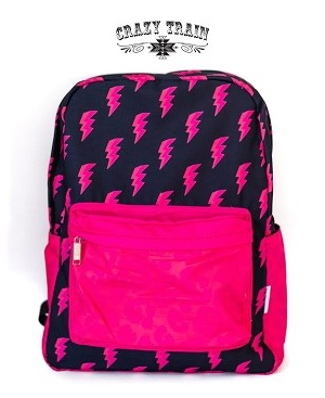 Crazy Train Crash Course Bolt Backpack