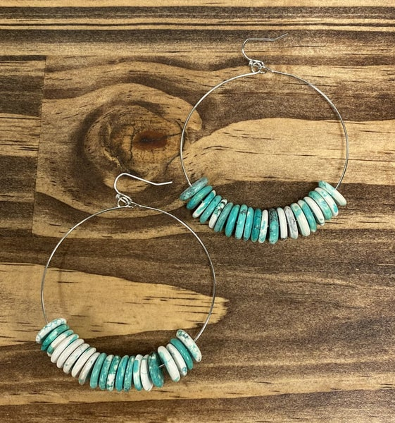 Rock Canyon Hoop Earrings