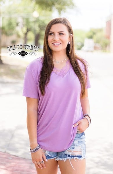 Crazy Train Lavender Very Fave Top
