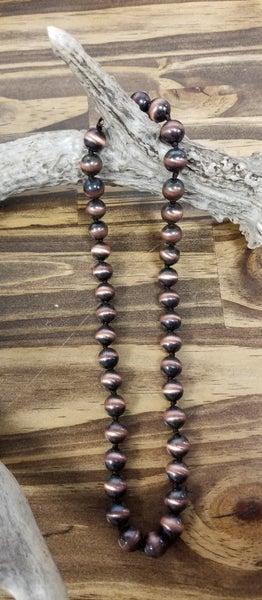 Bronze Bead Necklace