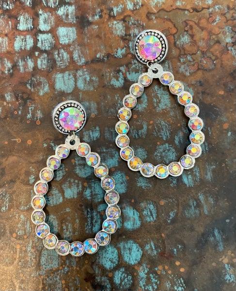 Kaycee Rhinestone Earrings