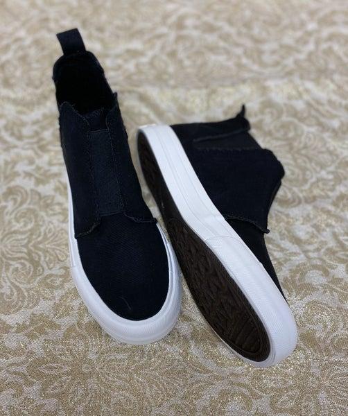 Black Frankie Shoe