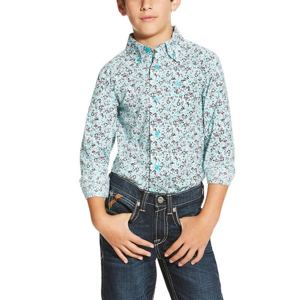 Ariat Boys Lone Print Long Sleeve