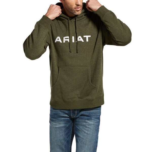 Ariat Men's Vertical Flag Hoodie