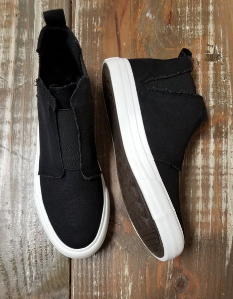 Black Frankie Shoe