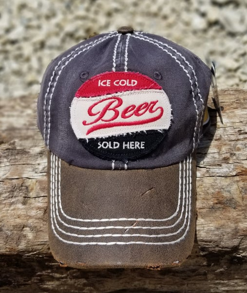 Ice Cold Beer Sold Here Baseball Cap
