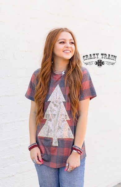 Crazy Train Rockin' Around Tee