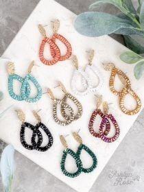 So in Style Drop Earrings *7 Colors*