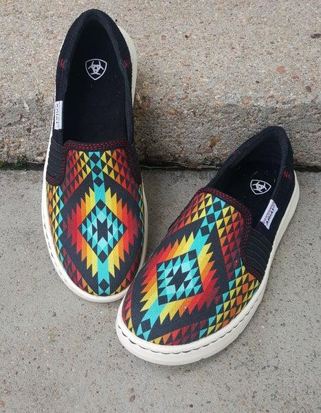 Ariat Women's Rainbow Aztec Ryder Shoe