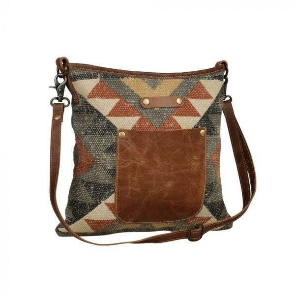 Aztec Angle Shoulder Bag