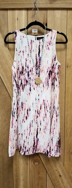 Splash of Spring Keyhole Back Dress