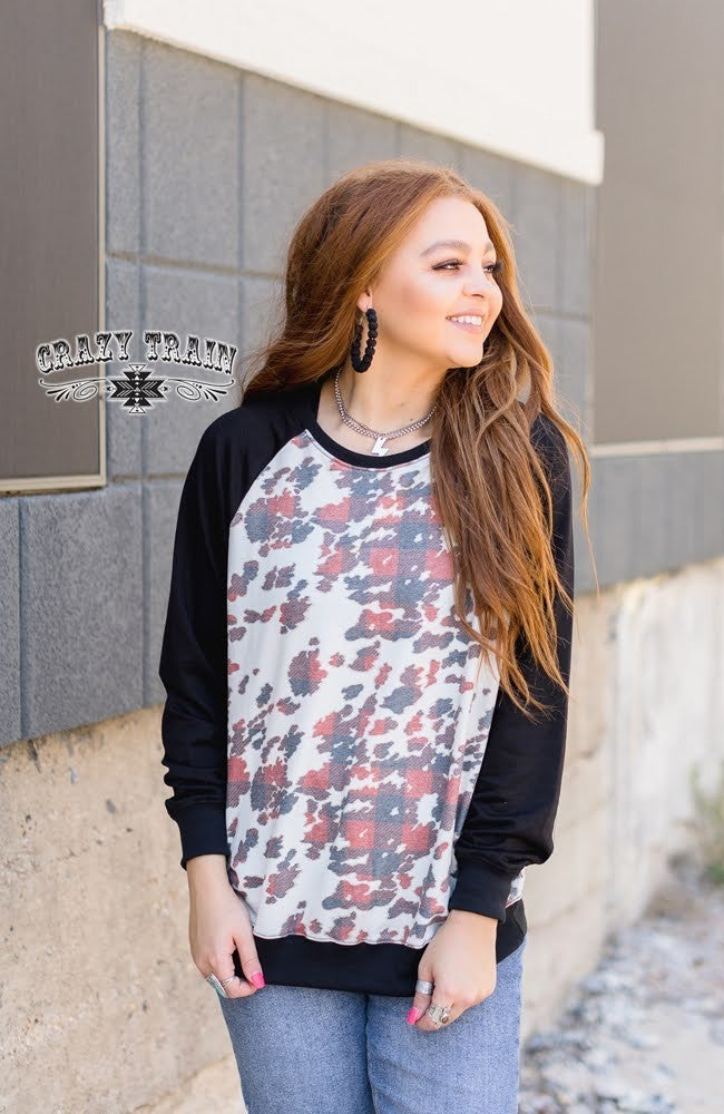 Crazy Train Holly Rancher Pullover