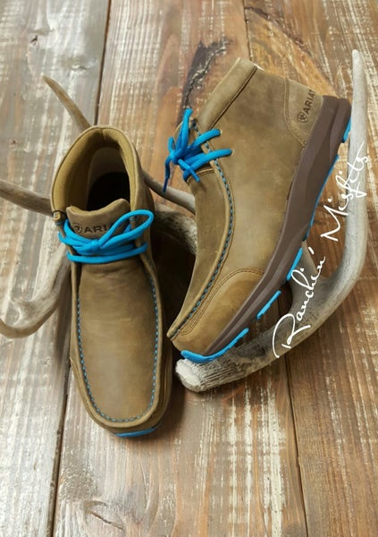 Men's Ariat Blue/Brown Spitfire
