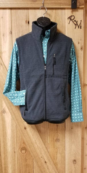 Powder River Black Charcoal Vest