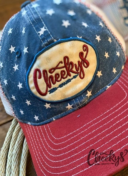 Cheekys Stars & Stripes Cap