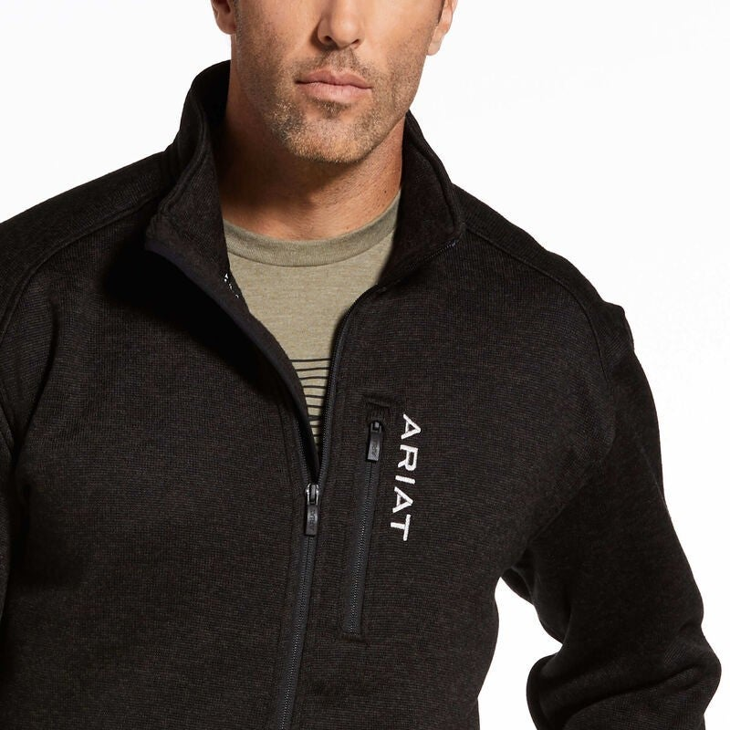 Ariat Men's Full Zip Charcoal Caldwell Jacket