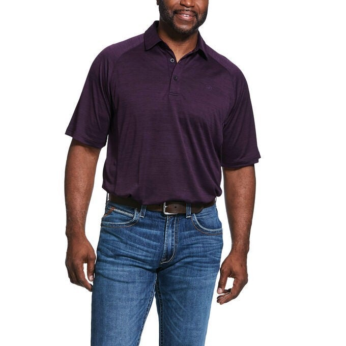 Ariat Men's Plum Charger Polo