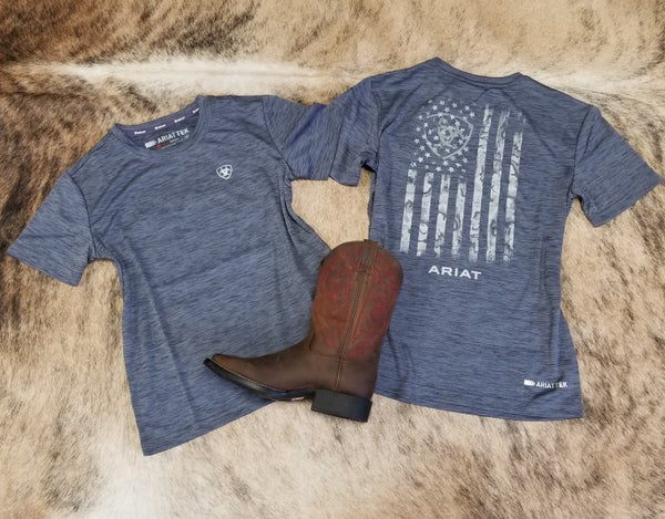Ariat KIDS Graystone Charger Graphic Tee