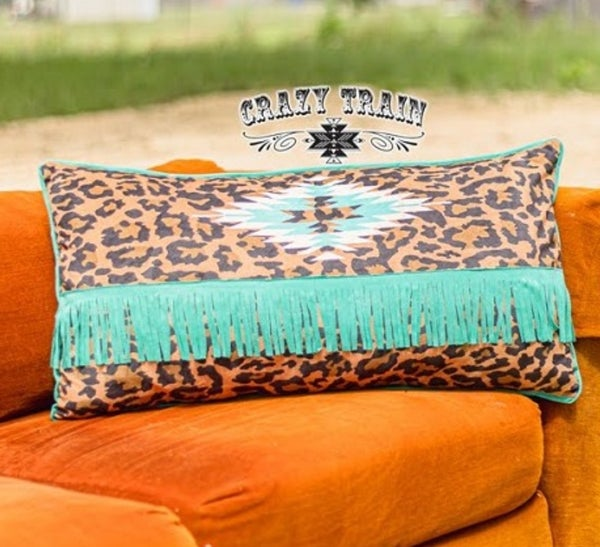 Crazy Train Leopard Lounger Pillow