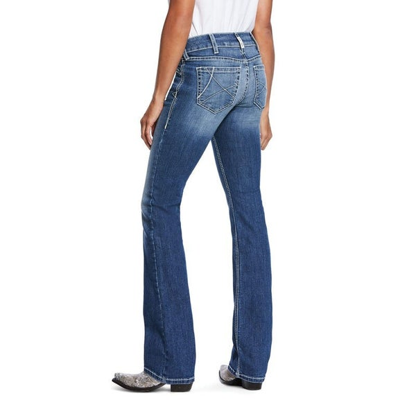 Ariat Women's Arrow Fit Stretch Ella Boot Cut Jean