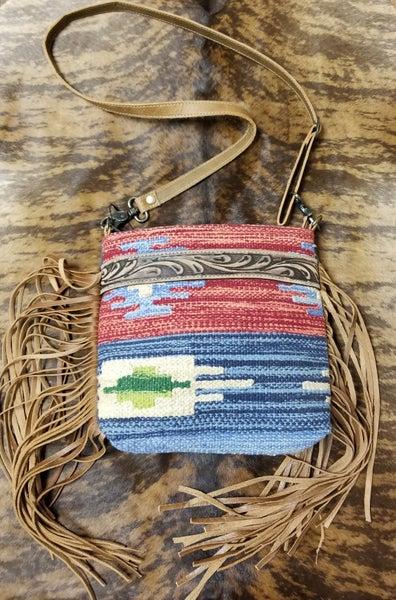 Sunset Hand-Tooled Bag
