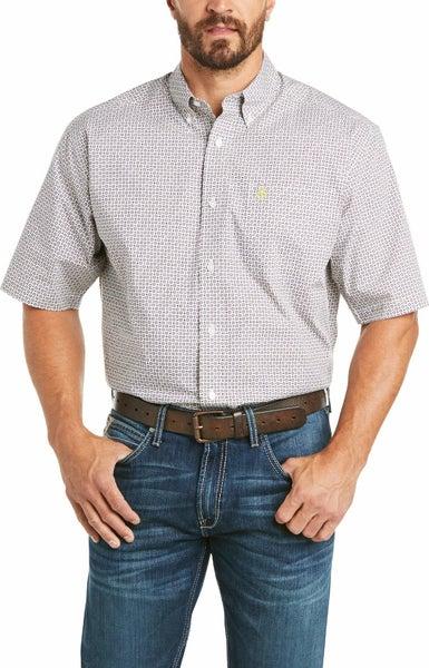Ariat Men's  Castello Short Sleeve Shirt