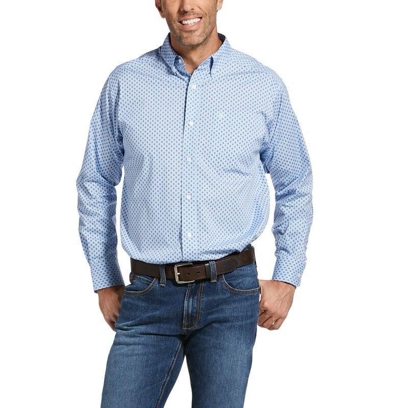 Ariat Mens Jeanwood Stretch Classic Fit Shirt