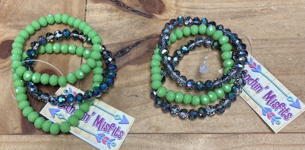 My Lucky Stretch Bracelets * Set of 3