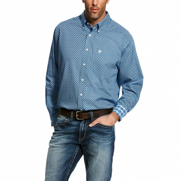 Ariat  Mens Kampsen Print Shirt