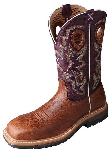 Men's Twisted X Comp Toe Lite Western Work Boot