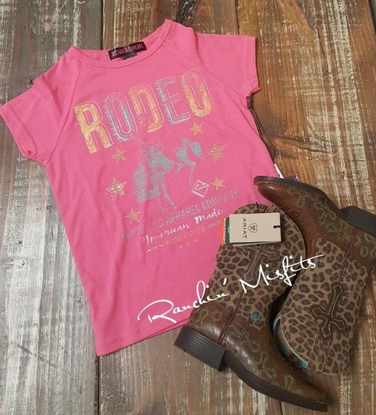 RRCG Girls Pink Rodeo Tee