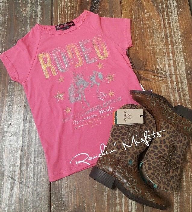RRCG Girls Pink Rodeo Tee