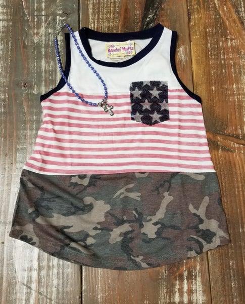 GIRLS Betsy Ross Sequin Tank