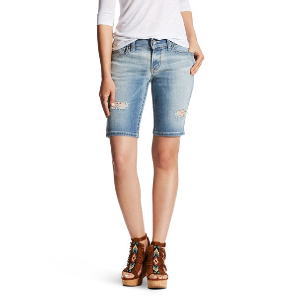 Ariat Folk Flower Bermuda Shorts