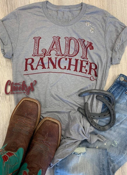 Cheeky's Lady Rancher Tee