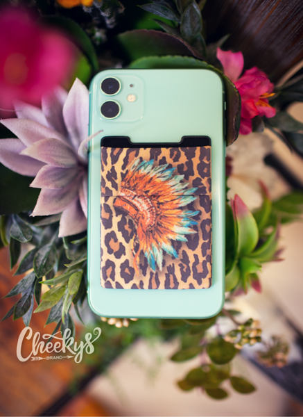 Warrior  Leopard Phone Wallet