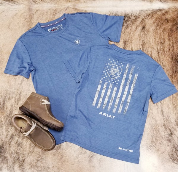 Ariat KIDS Old Bay Charger Graphic Tee