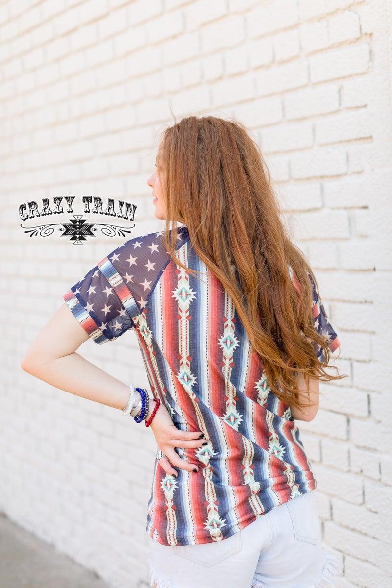 Crazy Train American Bash Top
