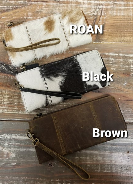 Leather & Hair on Hide Wallets