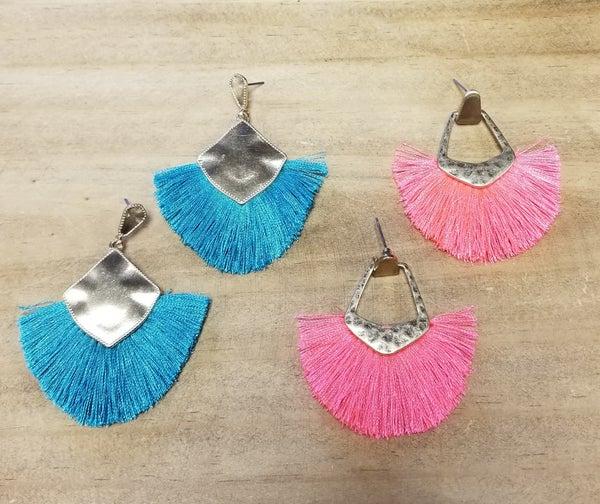 Fan Faves Post Earrings *2 Colors*