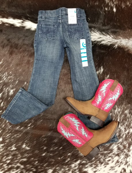 Girls Wrangler Everyday Jeans