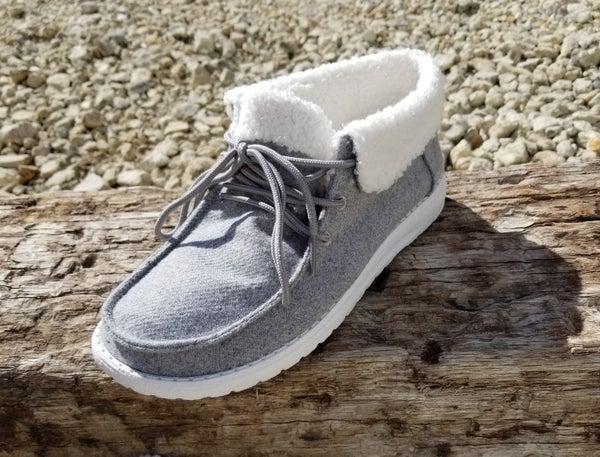 Grey Sherpa Mikey Shoe