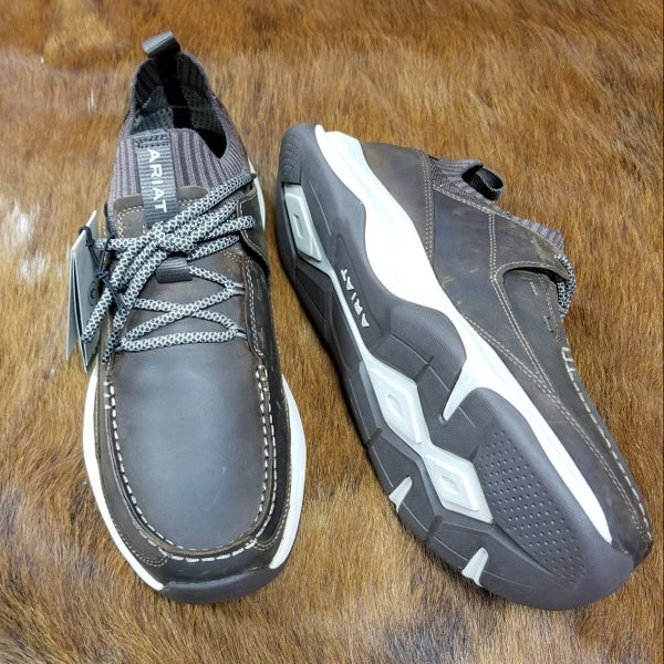 Ariat Men's Country Mile Distressed Tan Shoe