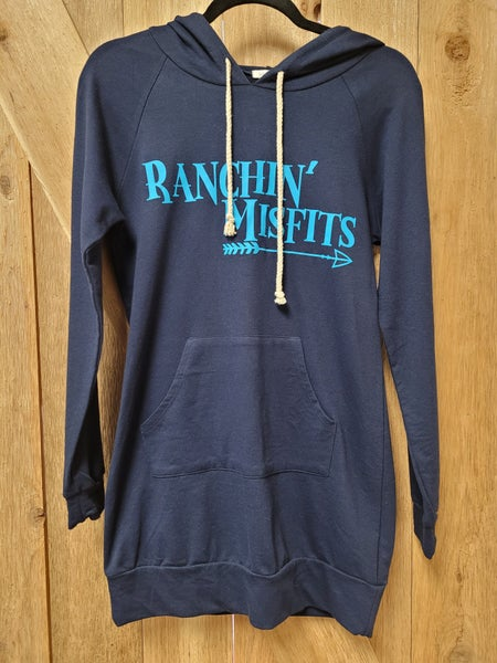 Ranchin' Misfits Navy Lightweight Hoodie