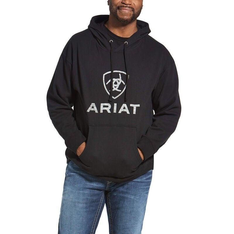 Ariat Men's RoughGrain Logo Hoodie