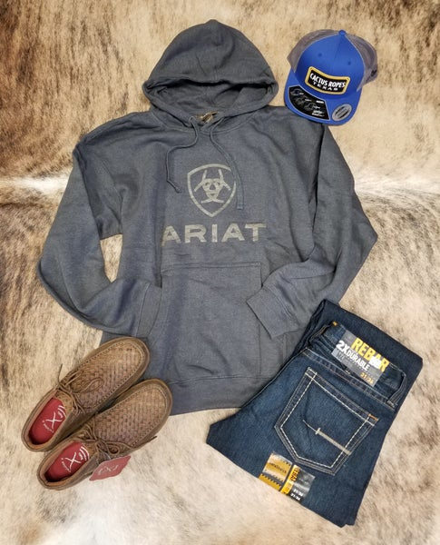 Ariat Men's Roughgrain Logo Sweatshirt